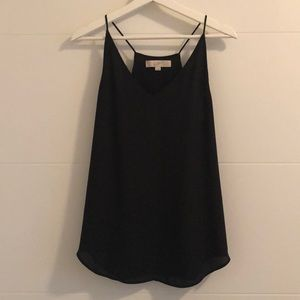Price drop! Strappy black blouse